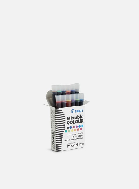 Ricariche e colori per marker Pilot Cartuccia Parallel Pen 12 pz Colori Assortiti