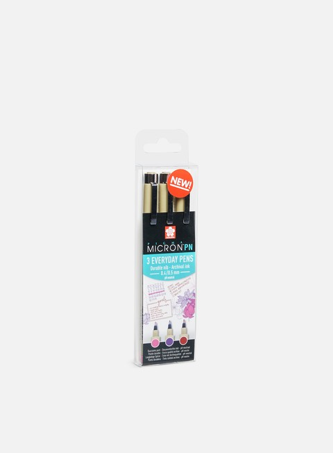 Marker per Sketch & Design Sakura Pigma Micron PN Craft Set 3 pz