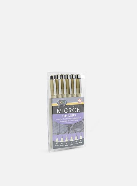 marker sakura pigma micron set 6 pz