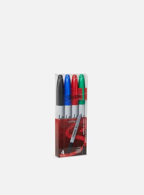 marker sharpie fine set 4 pz