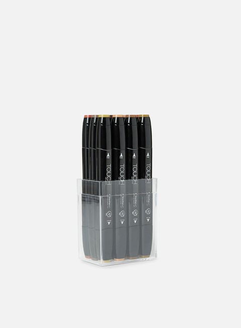 Marker per sketch & design Touch Twin Set 12 pz Wood