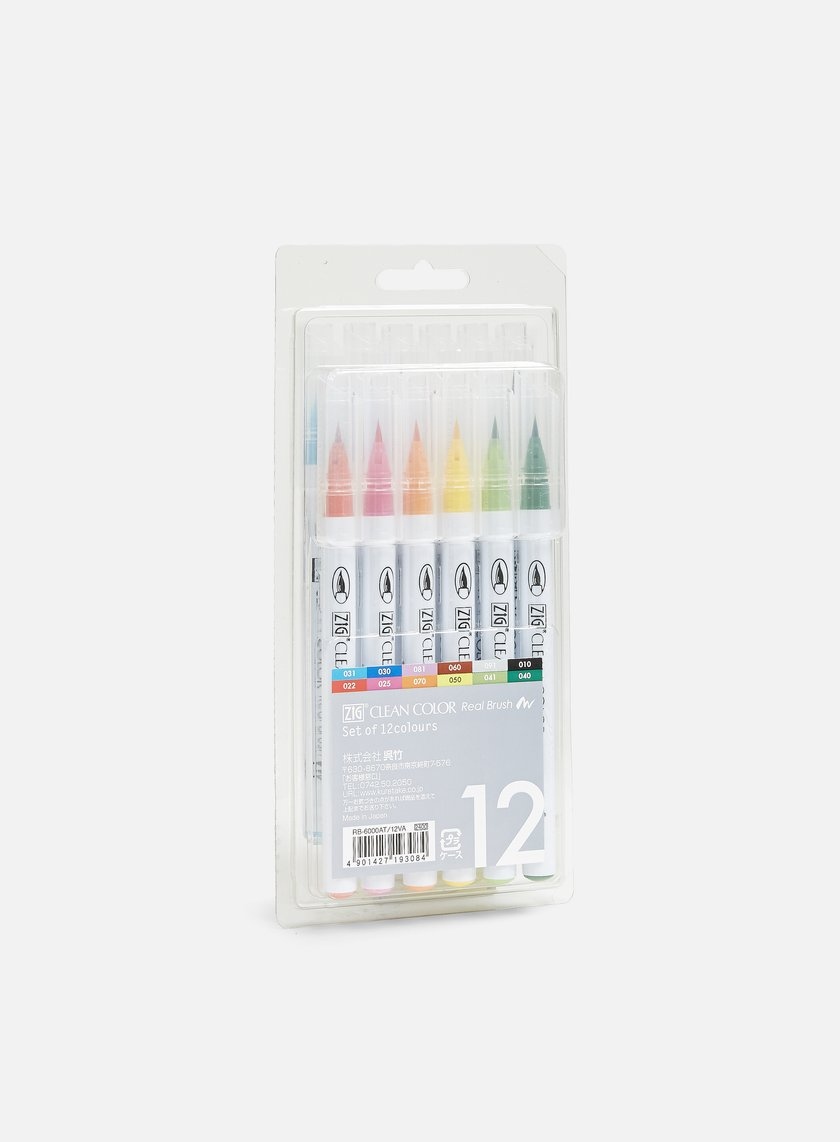 Zig - Clean Color Real Brush 12 pz