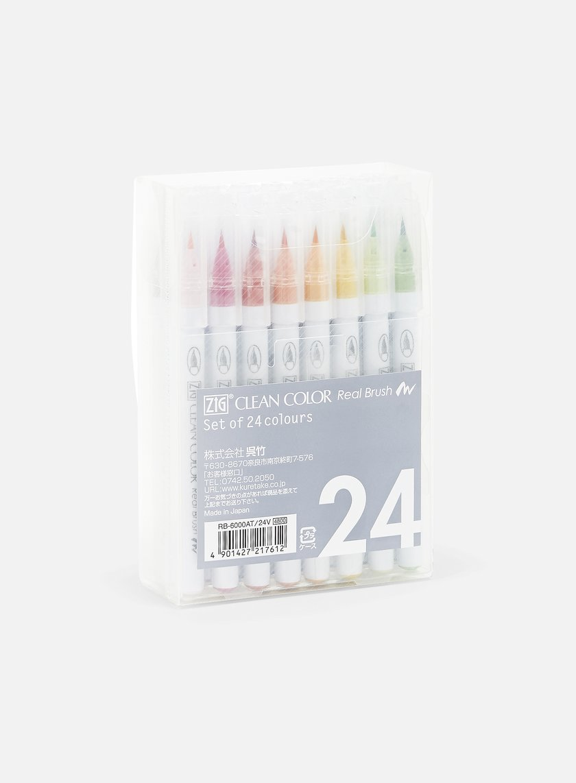 Zig - Clean Color Real Brush 24 pz