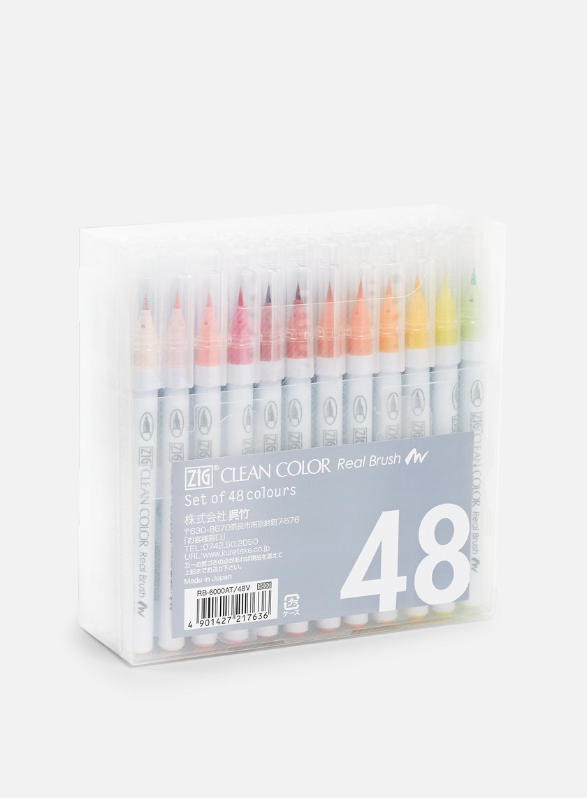 Zig - Clean Color Real Brush 48 pz