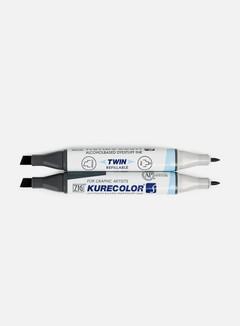 Zig Kurecolor Twin S Set 12 pz Pale