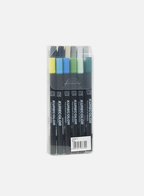 Marker per Sketch & Design Zig Manga Starter Kit Boy
