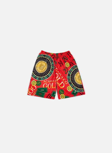 pantaloni acapulco gold monte carlo basketball short red