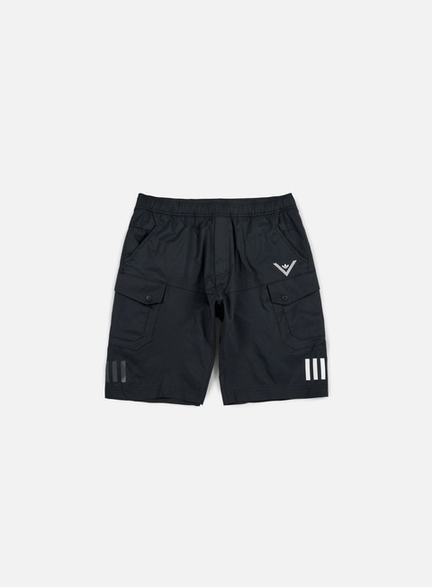 pantaloni adidas by white mountaineering wm short pants black