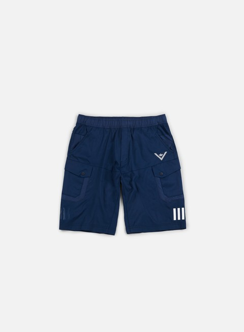 pantaloni adidas by white mountaineering wm short pants collegiate navy