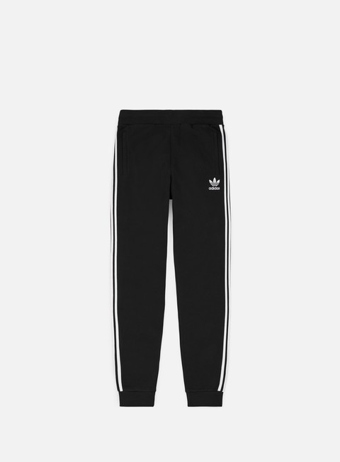 pantaloni adidas originals 3 stripes pant black