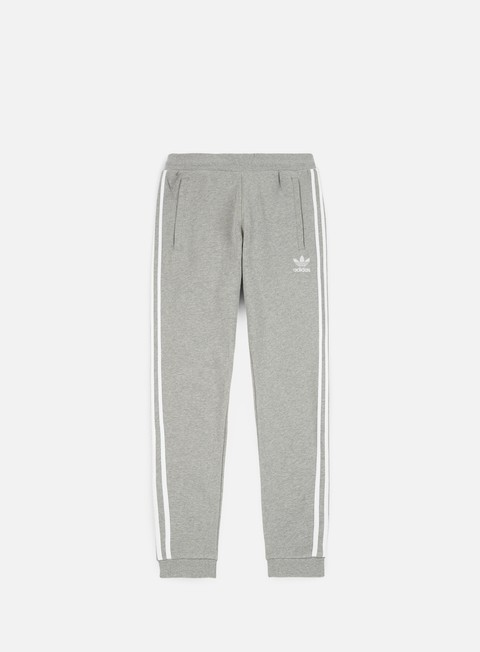 pantaloni adidas originals 3 stripes pant medium grey heather