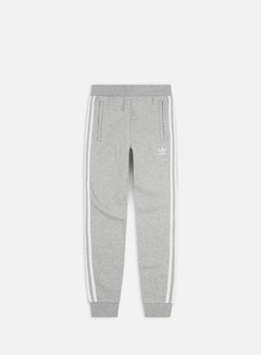 Adidas Originals - 3 Stripes Pant, Medium Grey Heather