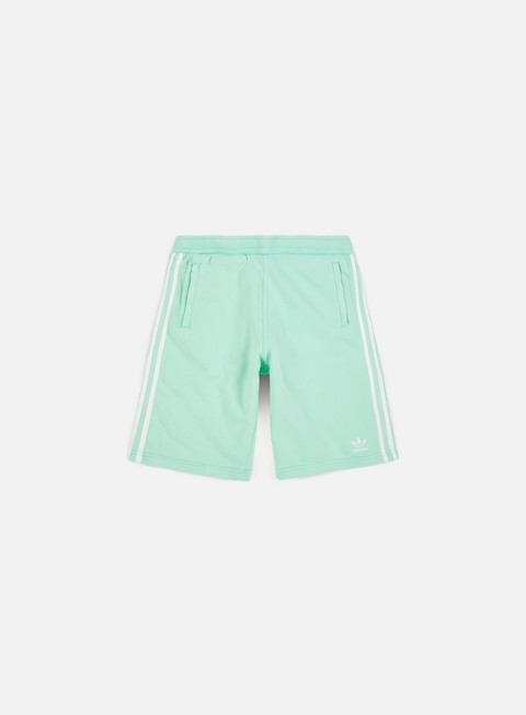 pantaloni adidas originals 3 stripes short clear mint