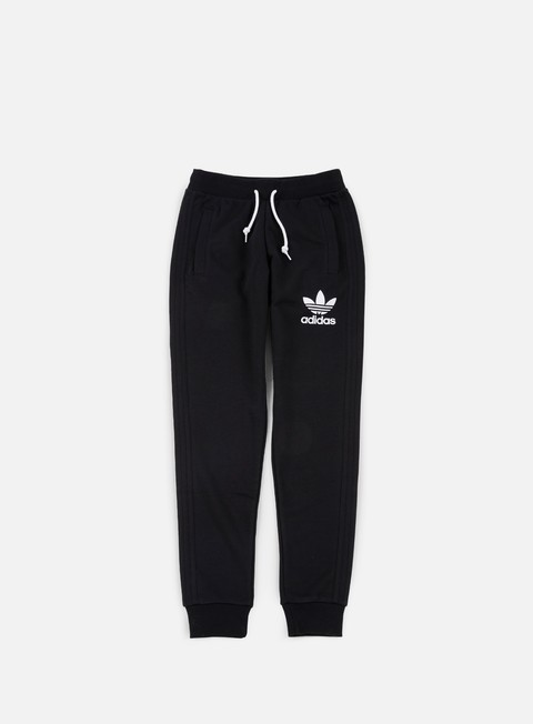 pantaloni adidas originals 3striped pant black