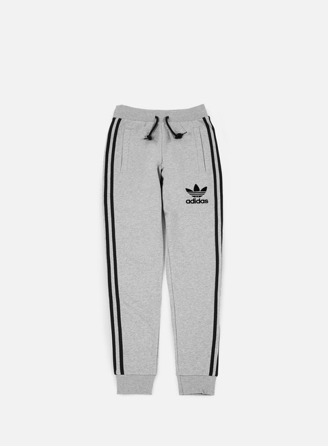pantaloni adidas originals 3striped pant medium grey heather