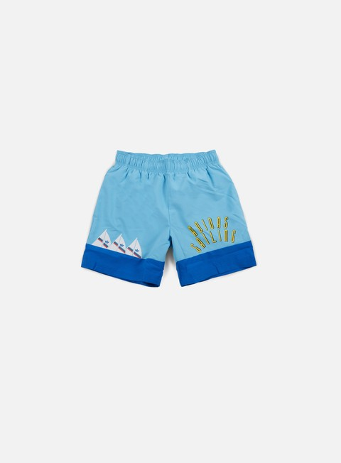 pantaloni adidas originals adi sailing short bluebird
