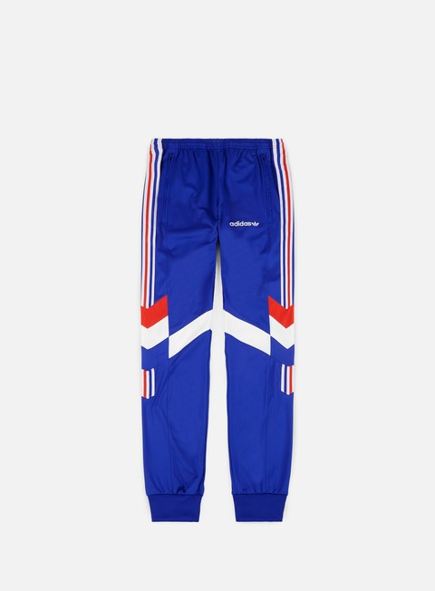 pantaloni adidas originals aloxe track pants bold blue white