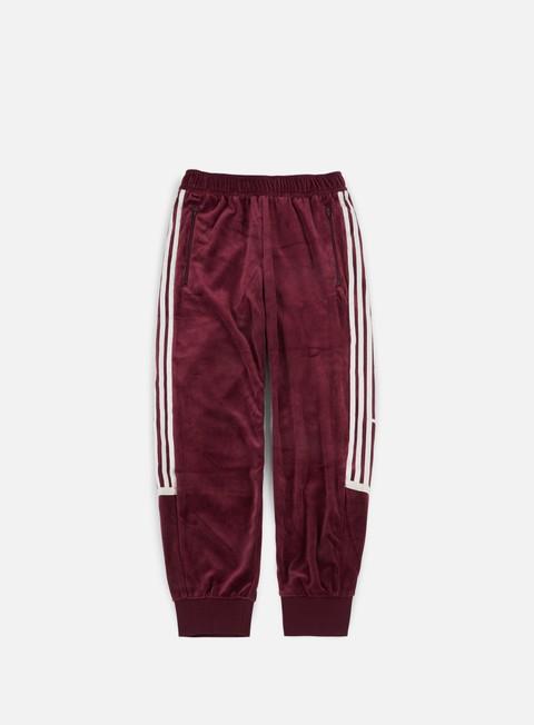 pantaloni adidas originals challenger track pants maroon