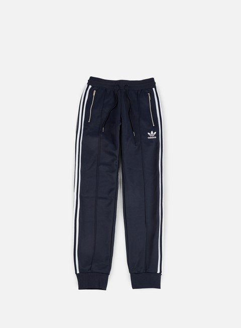 pantaloni adidas originals cuffed track pants legend ink