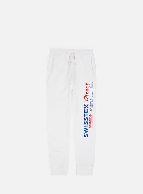pantaloni adidas originals kaval sweatpant cloud white