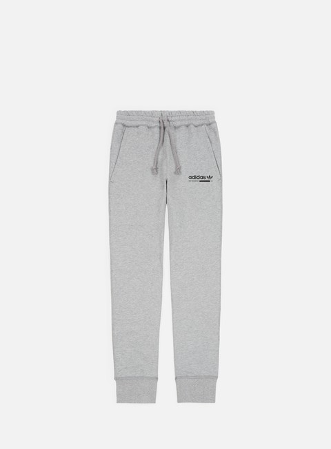 pantaloni adidas originals kaval sweatpant medium grey heather