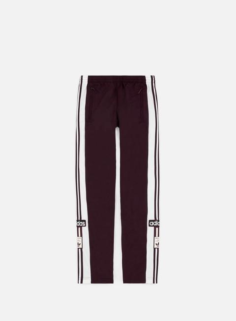pantaloni adidas originals og adibreak track pants maroon