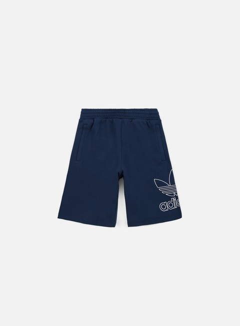 pantaloni adidas originals outline short collegiate navy