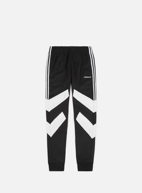 pantaloni adidas originals palmeston track pant black white
