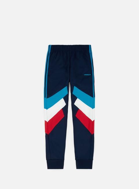 pantaloni adidas originals palmeston track pant collegiate navy bold aqua