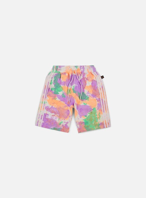 pantaloni adidas originals pharrell williams hu holi short multicolor white