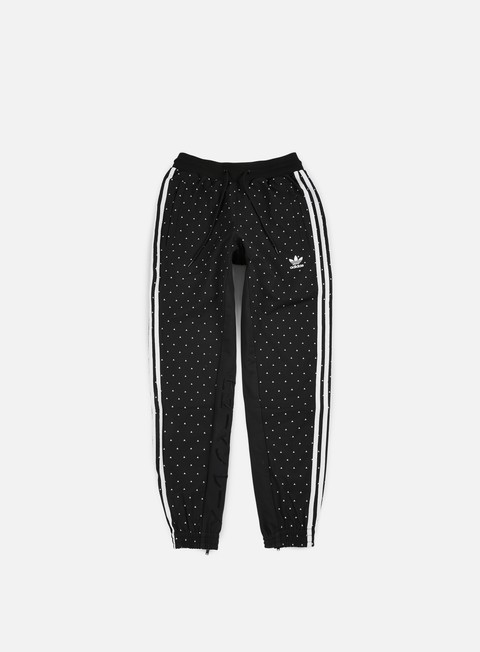 pantaloni adidas originals pharrell williams hu race carrot pant black white