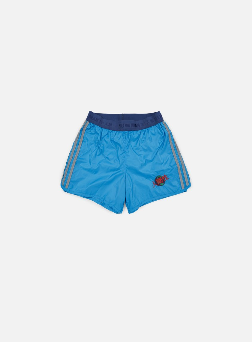 Adidas Originals - Pharrell Williams Hu Race Shorts, Sharp Blue