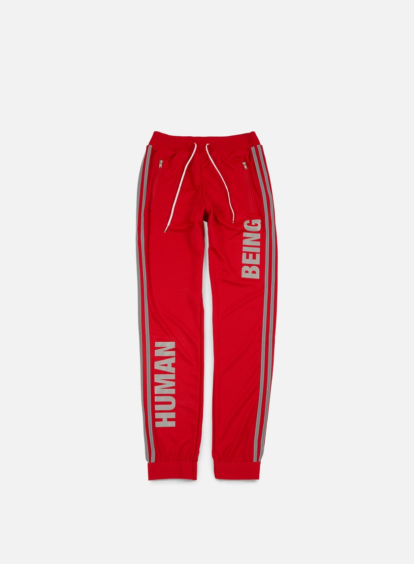 Adidas Originals - Pharrell Williams Hu Race Track Pants, Scarlet