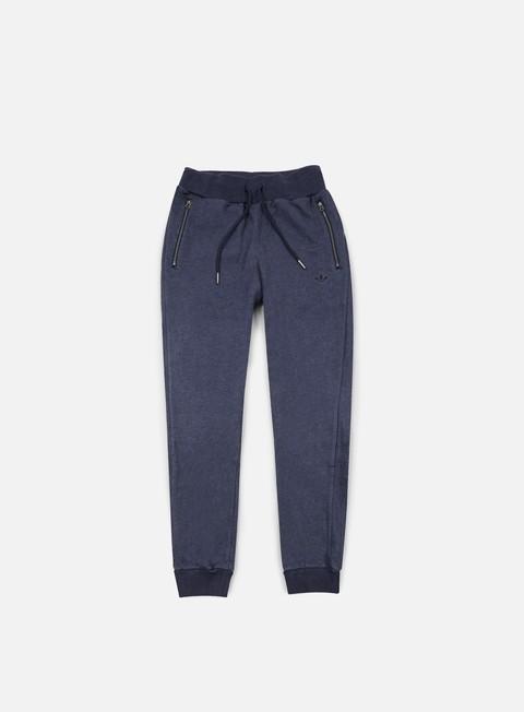 pantaloni adidas originals premium essentials slim track pant collegiate navy melange