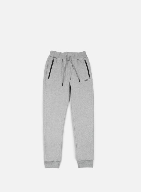 pantaloni adidas originals premium essentials slim track pant core heather