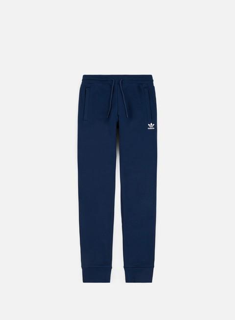 pantaloni adidas originals slim flc pant collegiate navy