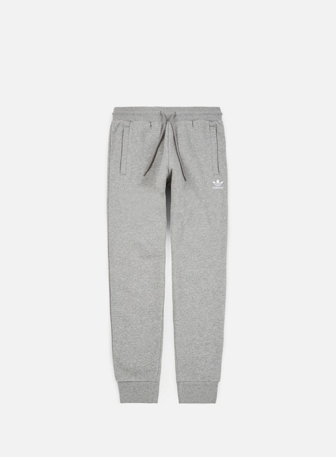 pantaloni adidas originals slim flc pant medium grey heather