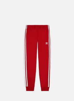 Adidas Originals - SST Track Pant, Power Red