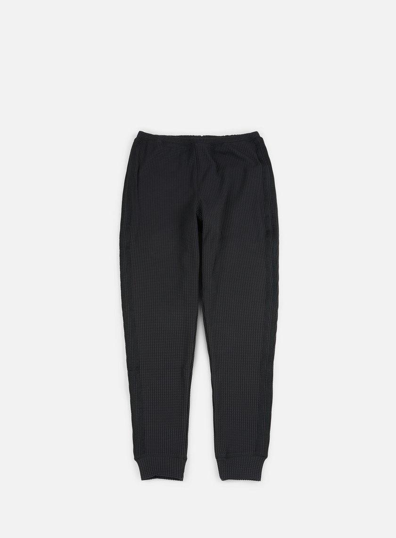 Adidas Originals - Thermal Waffle Track Pants, Black