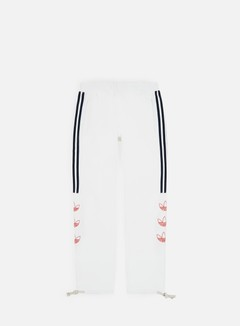 Adidas Originals - Tourney Trefoil Sweat Pant, White/Raw Amber