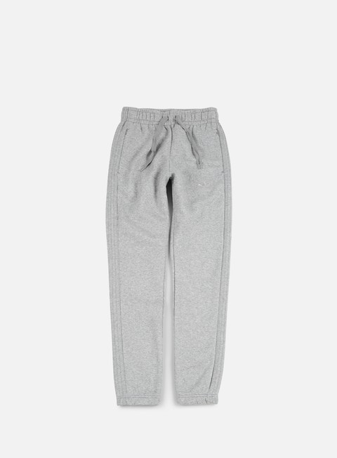 pantaloni adidas originals trefoil series pant medium grey heather