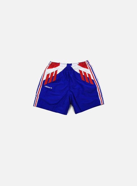 pantaloni adidas originals tri colore short bold blue multi