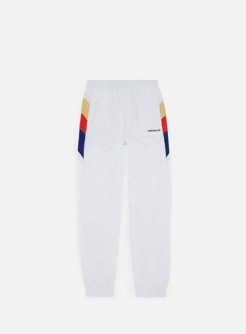 pantaloni adidas originals tribe slim tapered pant white