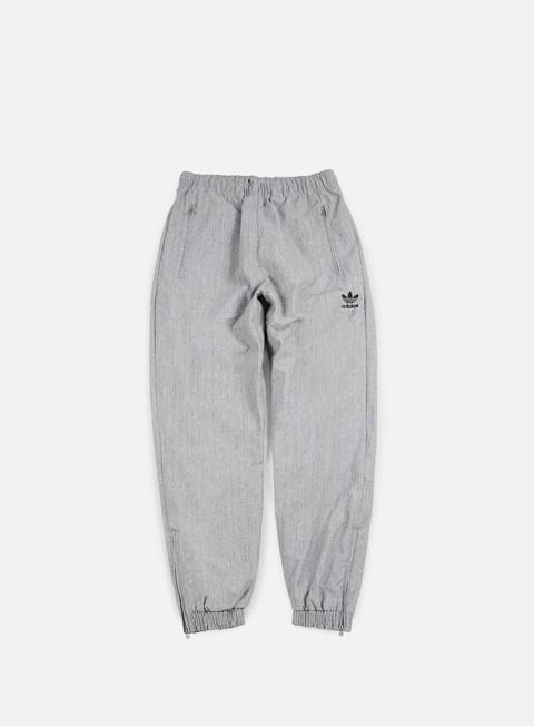 pantaloni adidas originals wind pant black melange