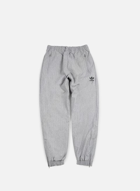 pantaloni adidas originals wind pant black metallic silver