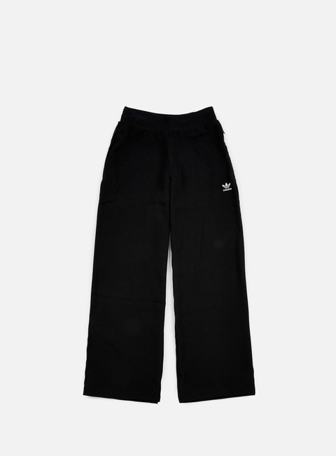 pantaloni adidas originals wmns bellbottom pant black