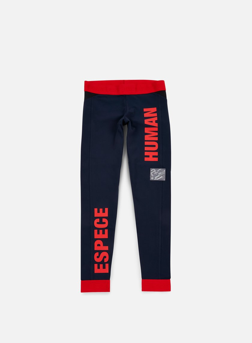 Adidas Originals - WMNS Pharrell Williams Hu Race Tights, Night Marine/Scarlet