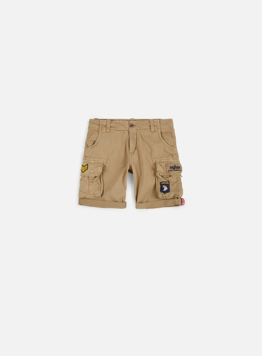 Alpha Industries Crew Patch Shorts