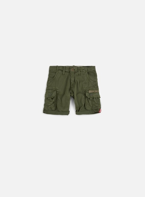 Outlet e Saldi Pantaloncini Corti Alpha Industries Crew Shorts