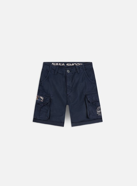Outlet e Saldi Pantaloncini Alpha Industries Nasa Shorts